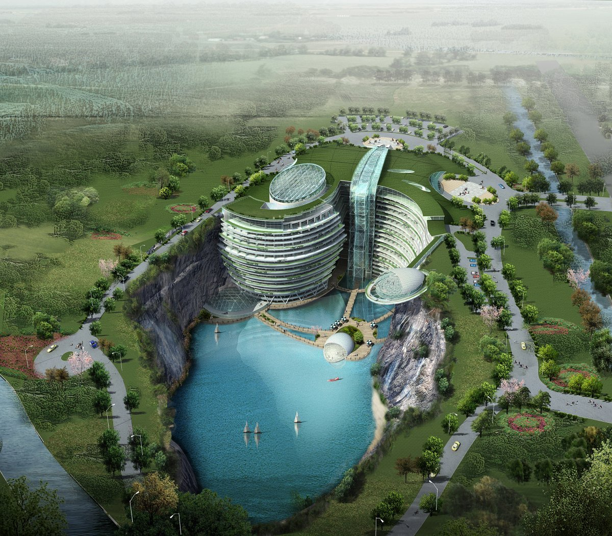 RE: Songjiang Shimao Hotel China - Is it real?