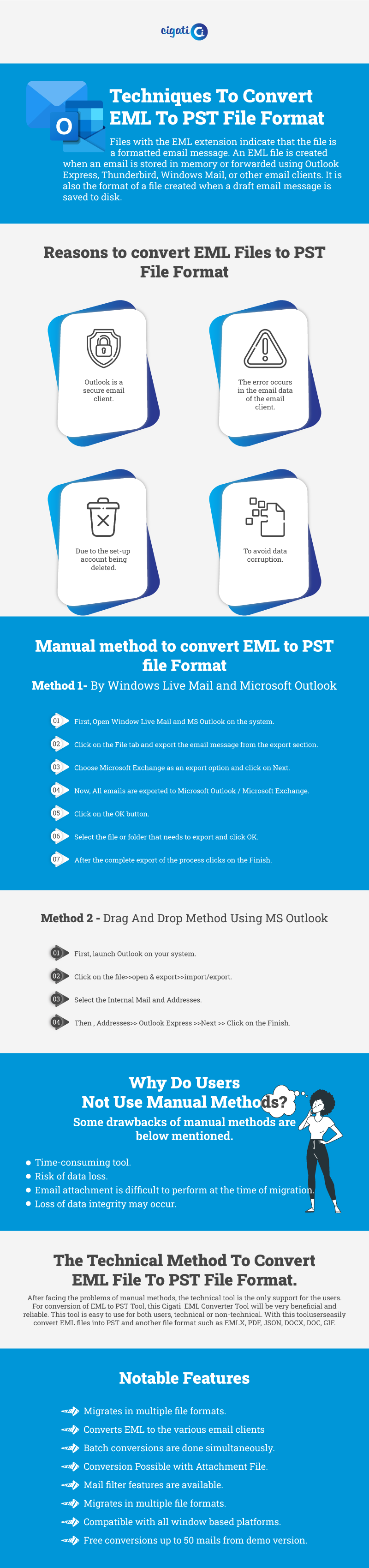 RE: How to import EML to PST Format?