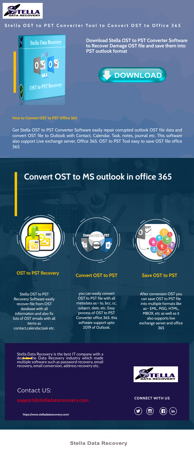 RE: OST recovery made easy with EdbMails OST to PST tool