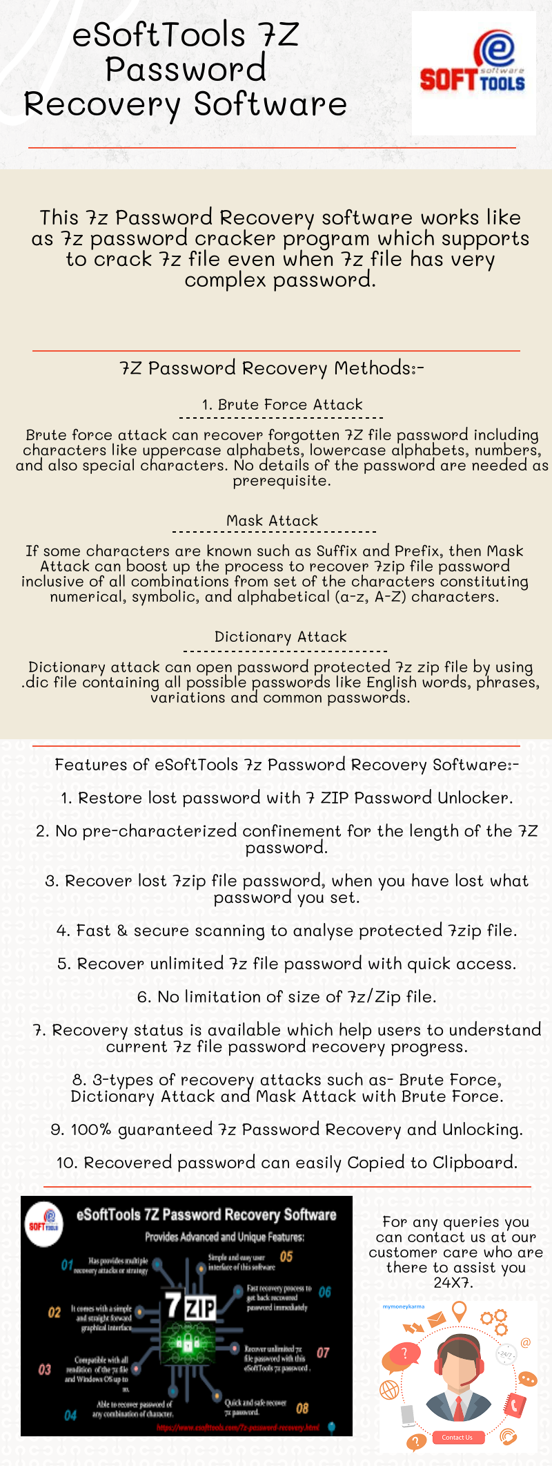 How to unlock lost and forgotten 7z passwords?