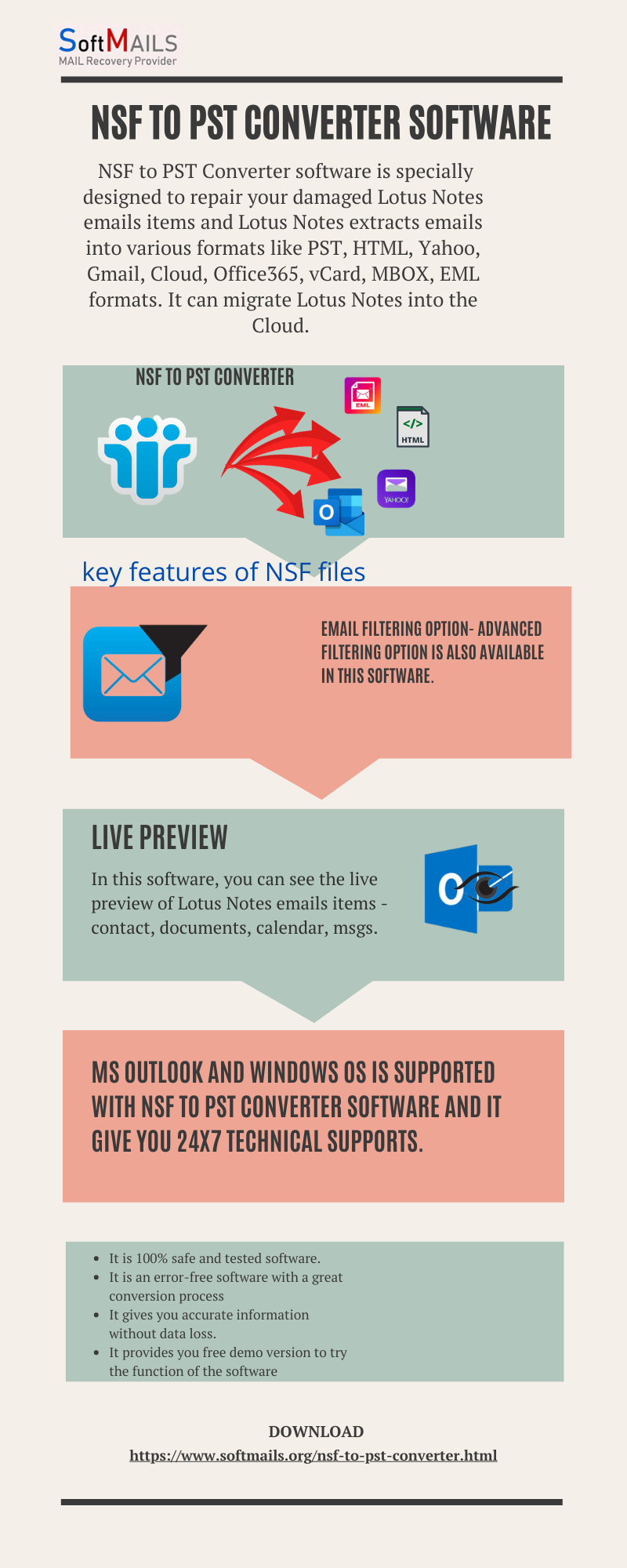 How to migrate lotus notes to office 365?