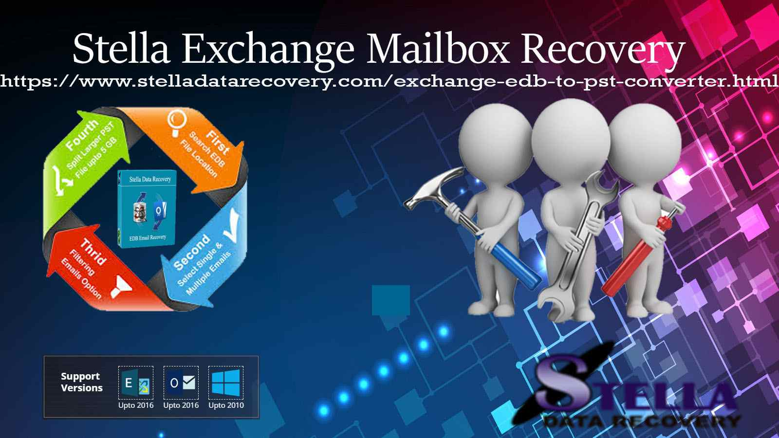 What exactly is Stella EDB to pst recovery software?