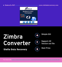 How to Convert Easy way Zimbra File to Pst File ?