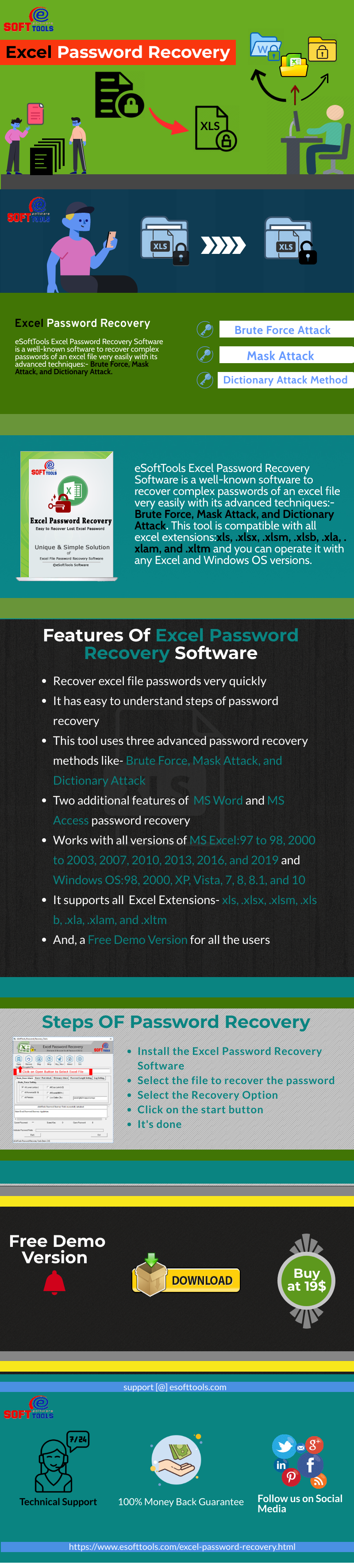 Best Free Excel Password Recovery Tool